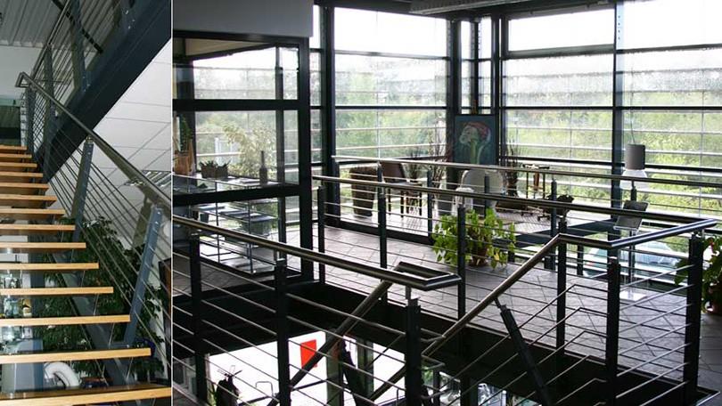 Neubau einer Gewerbehalle zum Passivhausstandard mit optimaler Ausnutzung der Solarenergie.