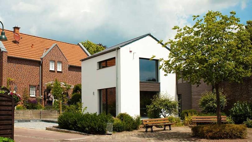 Kleinstes Passivhaus am Buir - Rongen Architekten GmbH