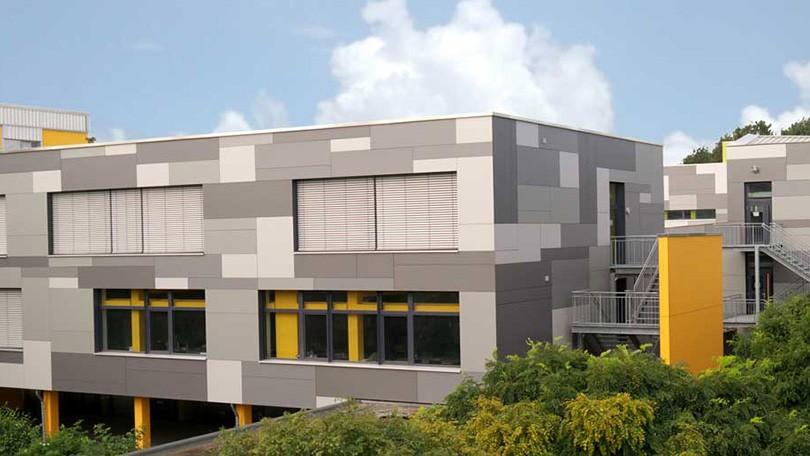 Gymnasium Baesweiler - eine zukunftsweisende Bauaufgabe nach Passivhausstandard.