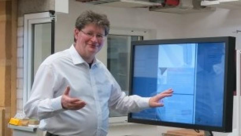 Michael Bickel ist Beauftragter für Innovation und Technologie des BTZ Rohr-Kloster.